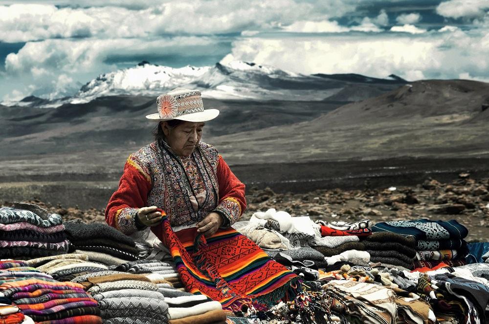 Ana Caroline de Lima - Aymara woman