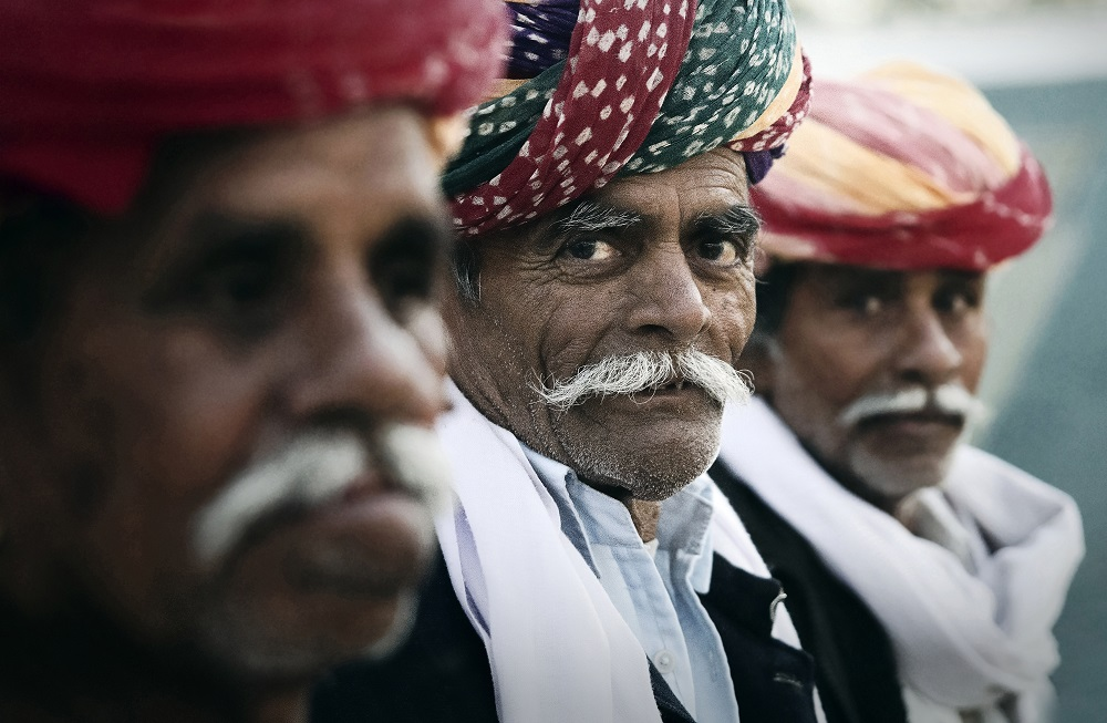 Ana Caroline De Lima-Hombres Rajasthani - India 2016 -